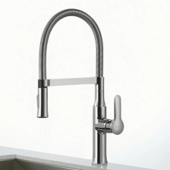 Kitchen Faucet Commercial Style New Kraus Nola Single Lever Flex