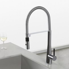 Kitchen Faucet Commercial Style Stoves Kraus Crespo Single Lever