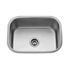Stainless Steel Single Bowl Kitchen Sink Ikea Carts Kraus 23 Quot X 17 6 Undermount