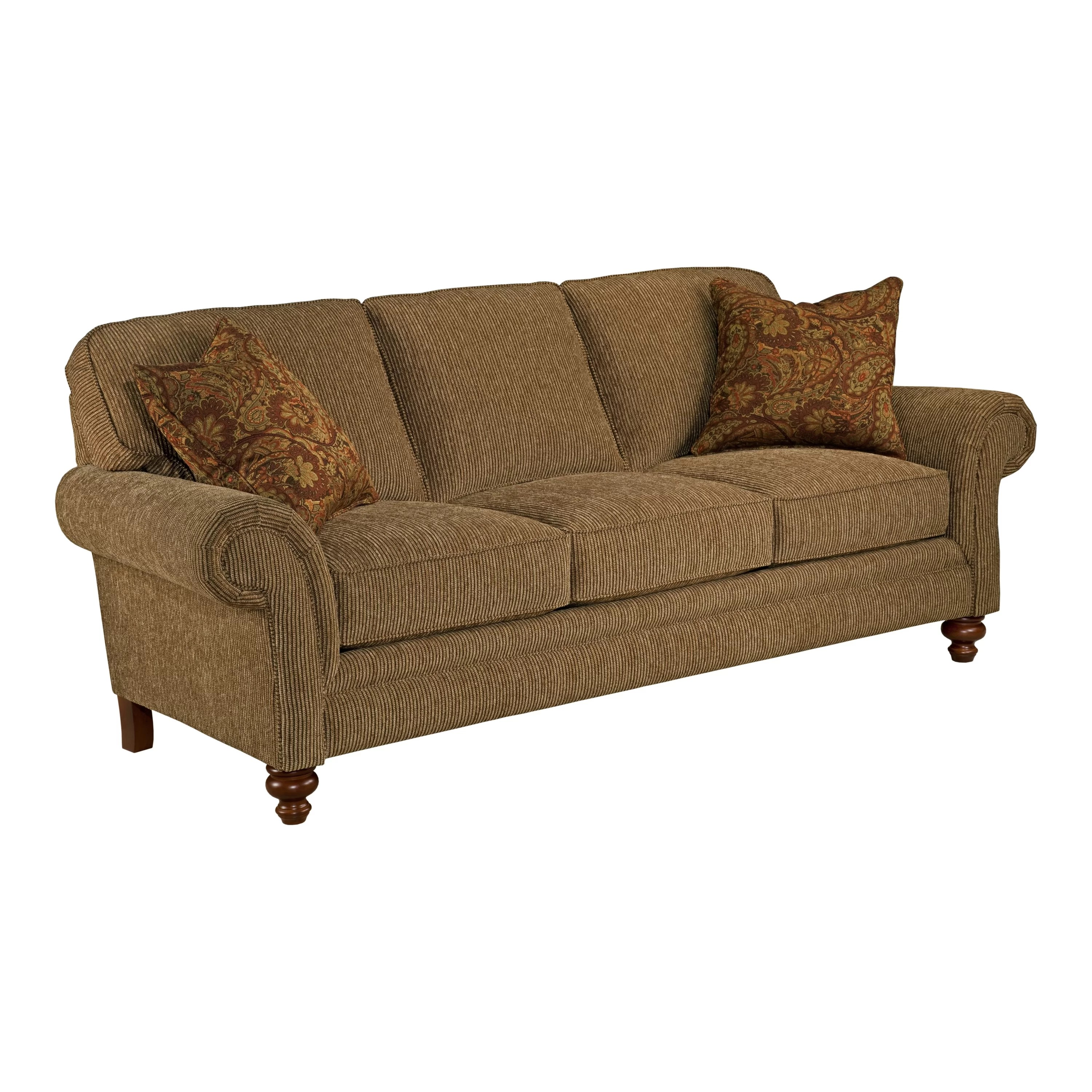 broyhill furniture sofa reviews corner with cuddler chair larissa wayfair