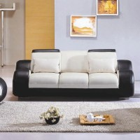 Hokku Designs Hematite Leather Living Room Collection ...