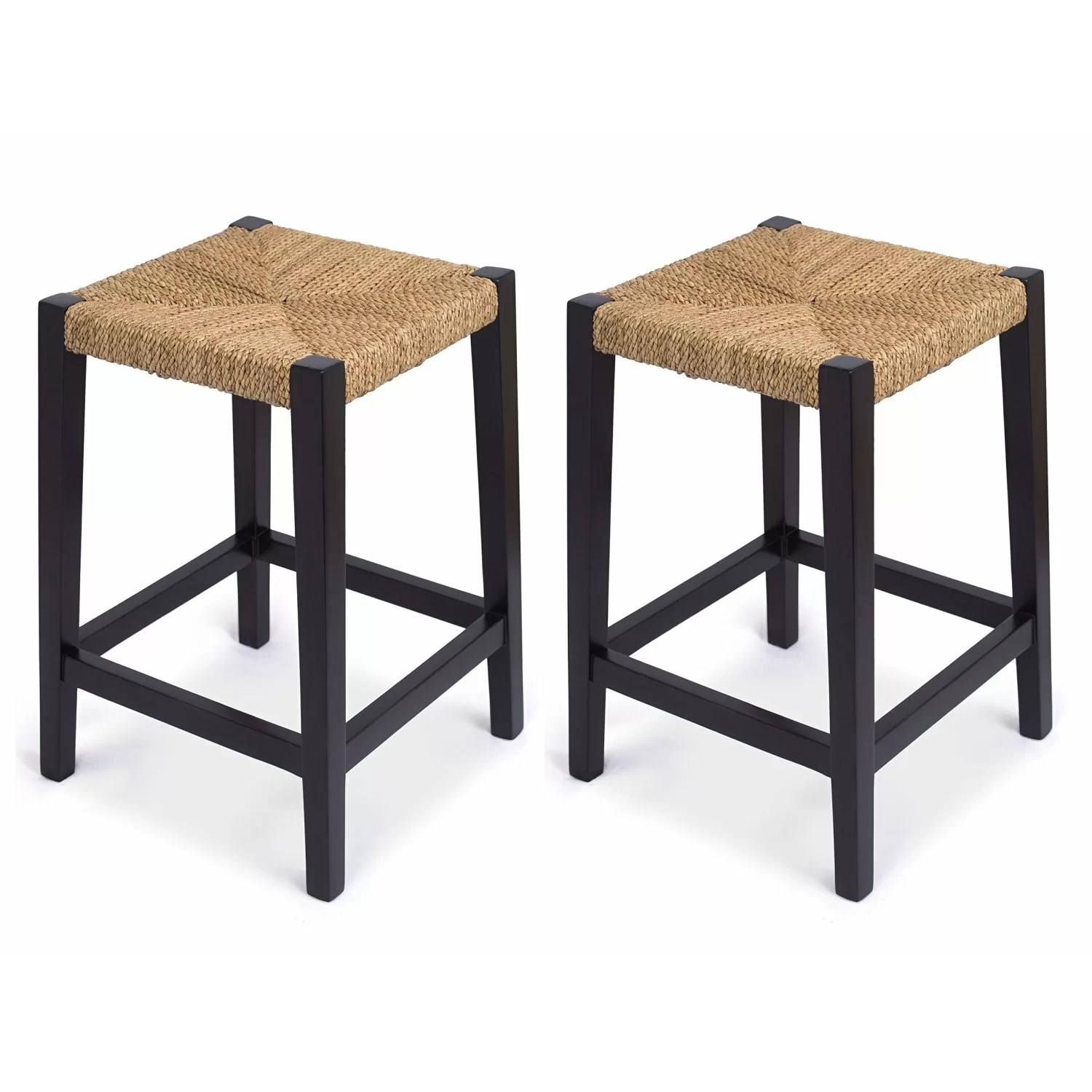 Counter Height Chairs Birdrock Home Rush Weave 24 Quot Counter Height Bar Stool