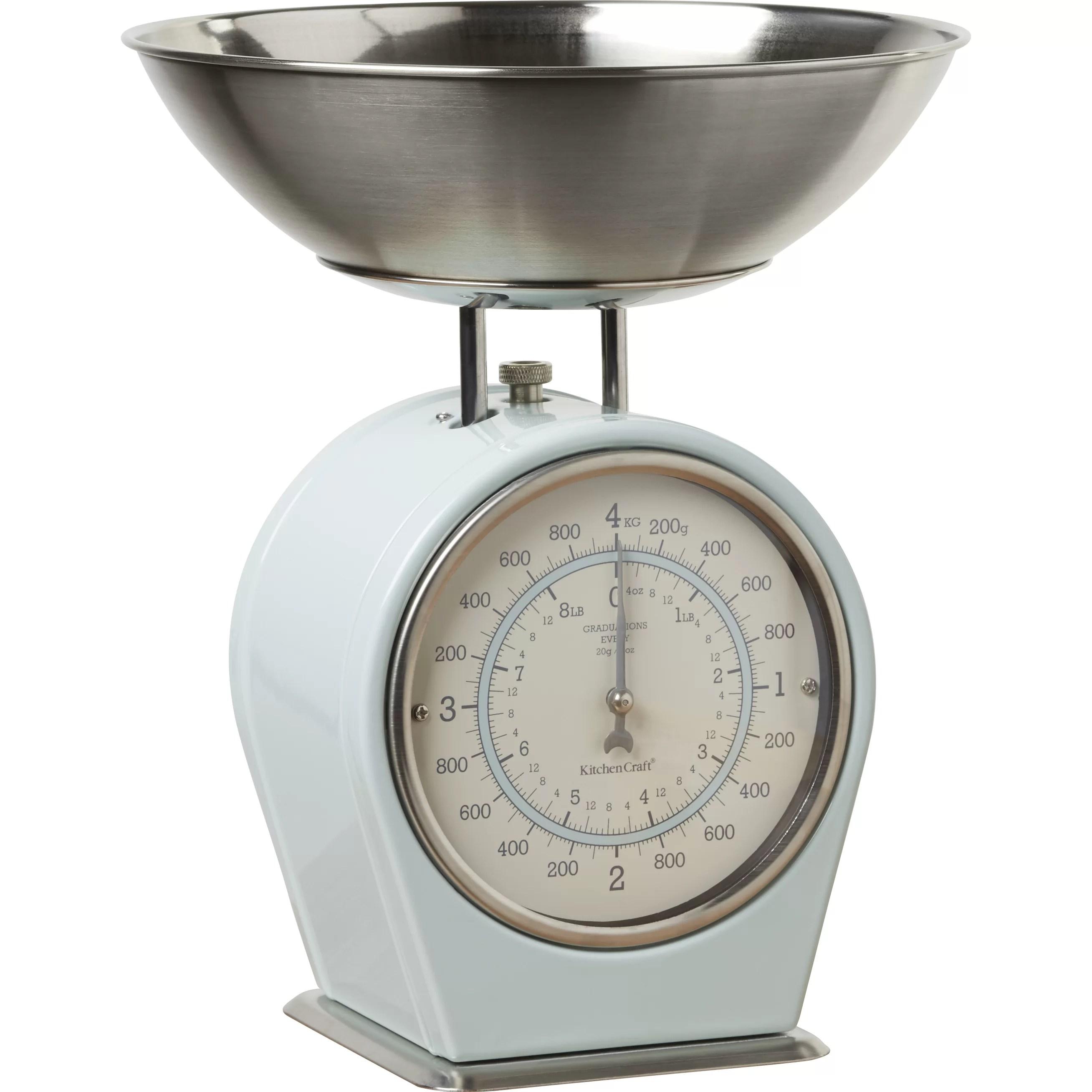 Kitchen Craft Living Nostalgia Mechanical Kitchen Scale