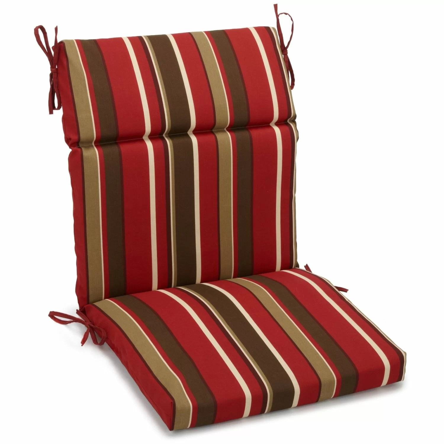Outdoor Lounge Chair Cushions Blazing Needles Monserrat Outdoor Lounge Chair Cushion