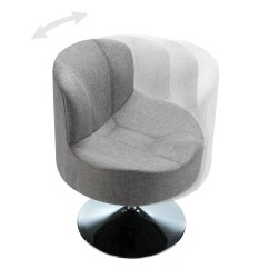 Round Base Chair Swing Alibaba Kingstown Home Barnabas Swivel Side And Reviews