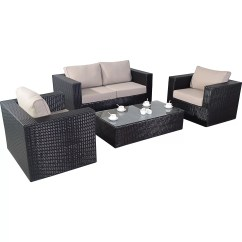 Four Seat Sofa Set Furniture Village Beds Uk Port Royal Luxe 4 Seater With Cushions And Reviews