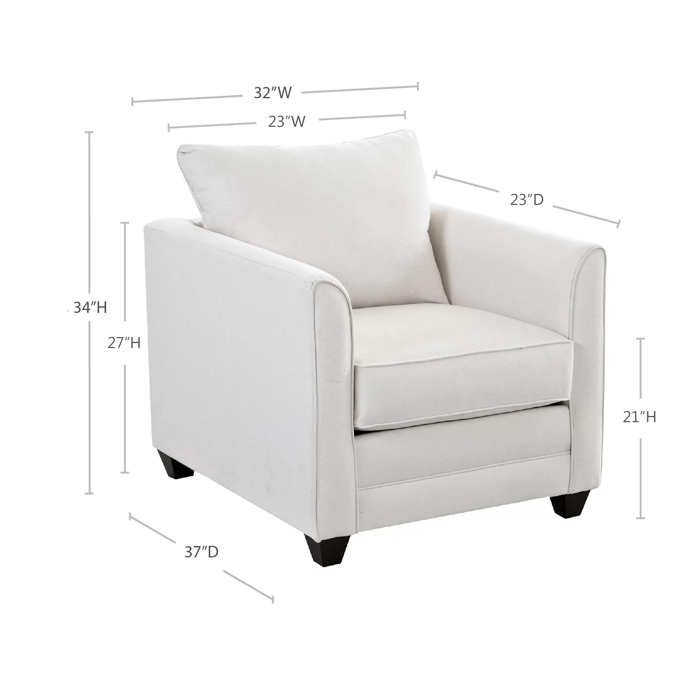 Wayfair Custom Upholstery Sarah Club Chair & Reviews