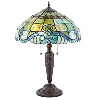 "River of Goods Stained Glass 20.25"" Table Lamp & Reviews ..."