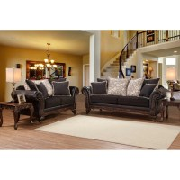 Brady Furniture Industries Elaborate Living Room ...
