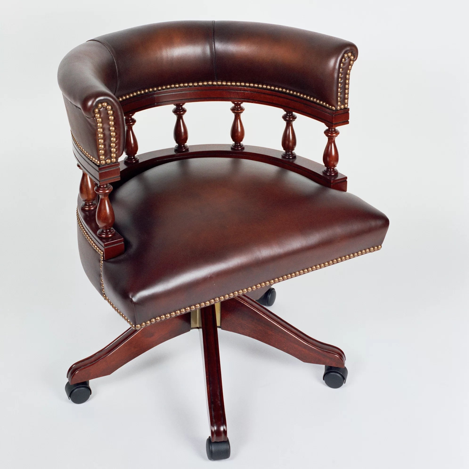 Bankers Chairs Curzon Gallery Collection Architects Mid Back Leather