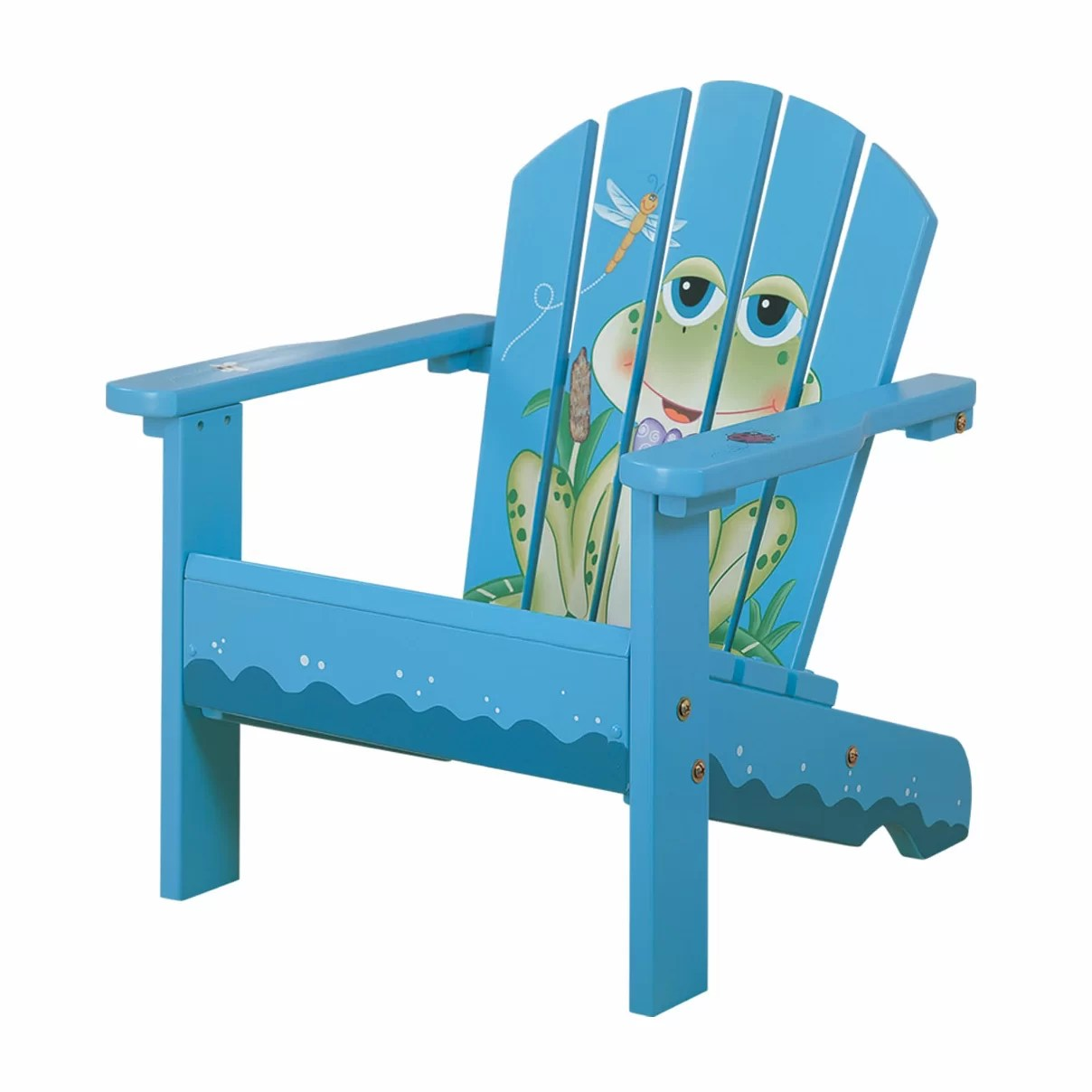 Kid Adirondack Chair Fantasy Fields Kids Adirondack Chair Wayfair