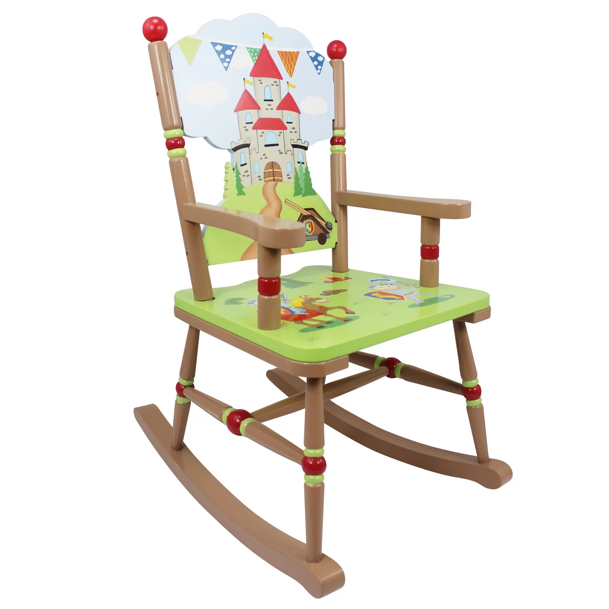 Kids Rocking Chair Fantasy Fields Knights And Dragons Kids Rocking Chair Wayfair