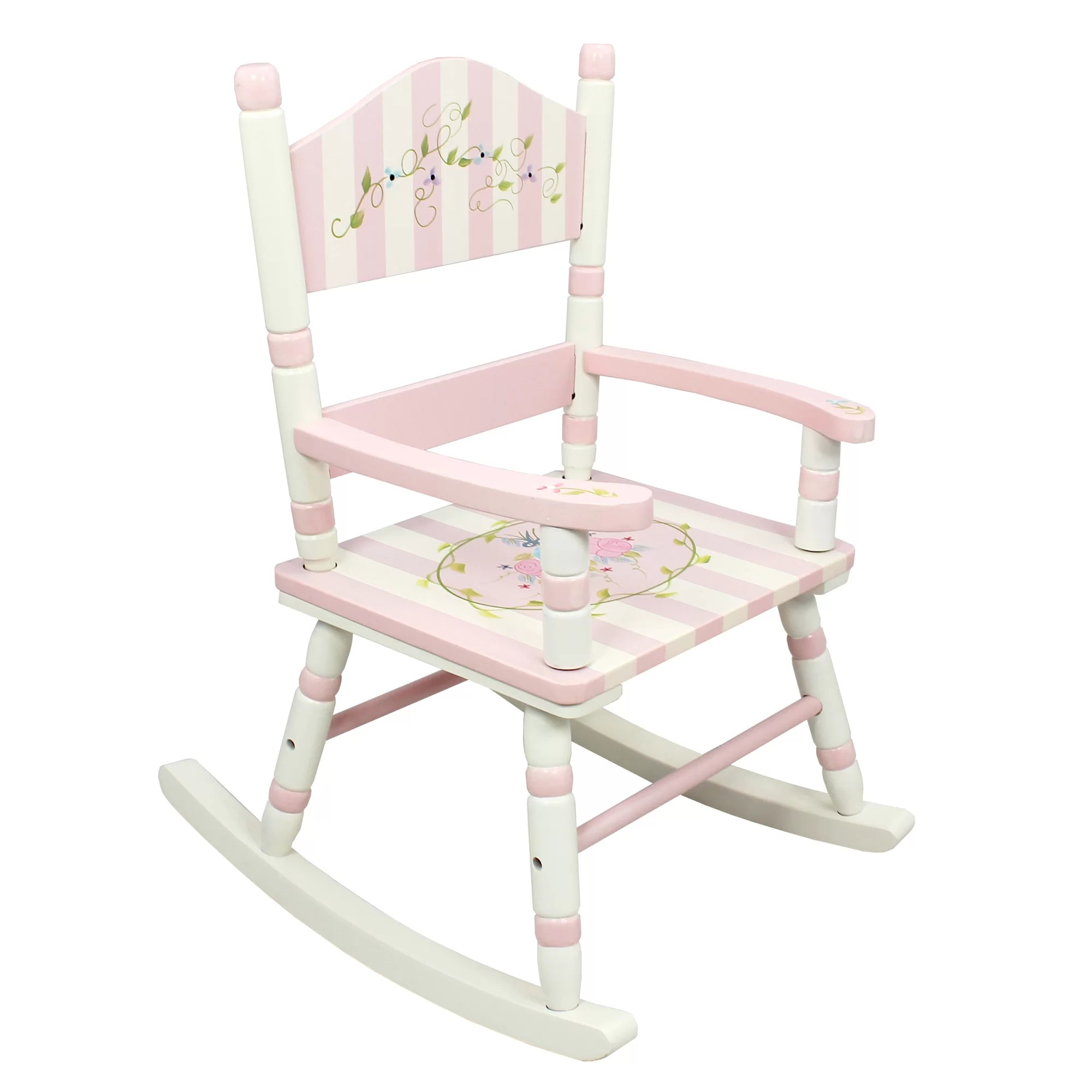 Kids Rocking Chairs Fantasy Fields Bouquet Kids Rocking Chair And Reviews Wayfair