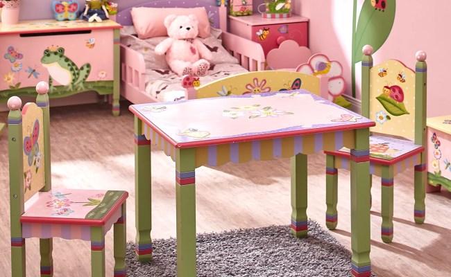 Fantasy Fields Magic Garden Kids 3 Piece Table Chair Set