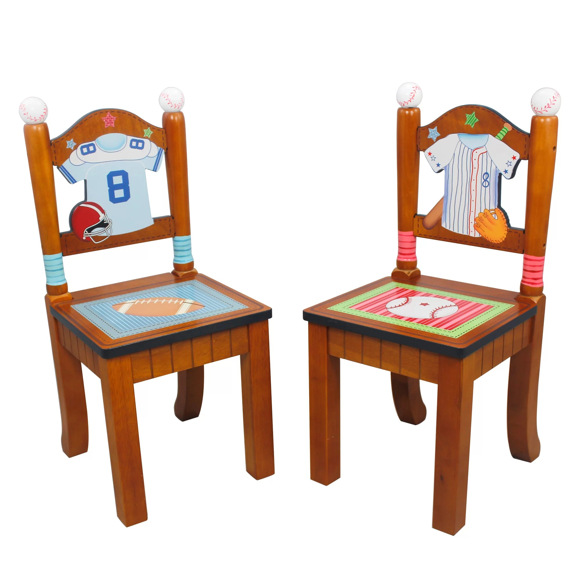 kids sports chairs chair covers spandex fantasy fields little fan 2 piece desk