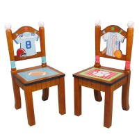 Fantasy Fields Little Sports Fan 2 Piece Kids Desk Chair