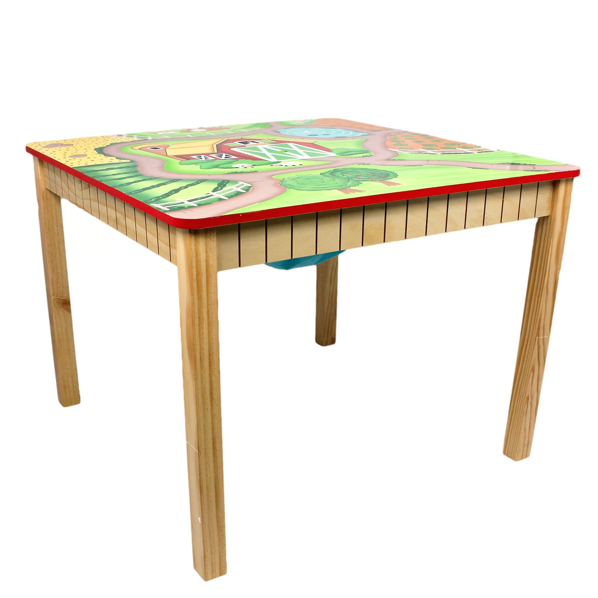 safety 1st 5 piece childrens table and chair set folding plans fantasy fields happy farm kids