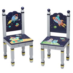 3 Piece Table And Chair Set Hanging Chair.net Fantasy Fields Outer Space Kids Rectangle