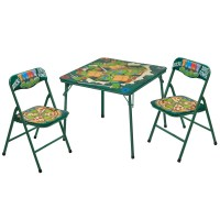 Idea Nuova Kids 3 Piece Table and Chair Set & Reviews ...