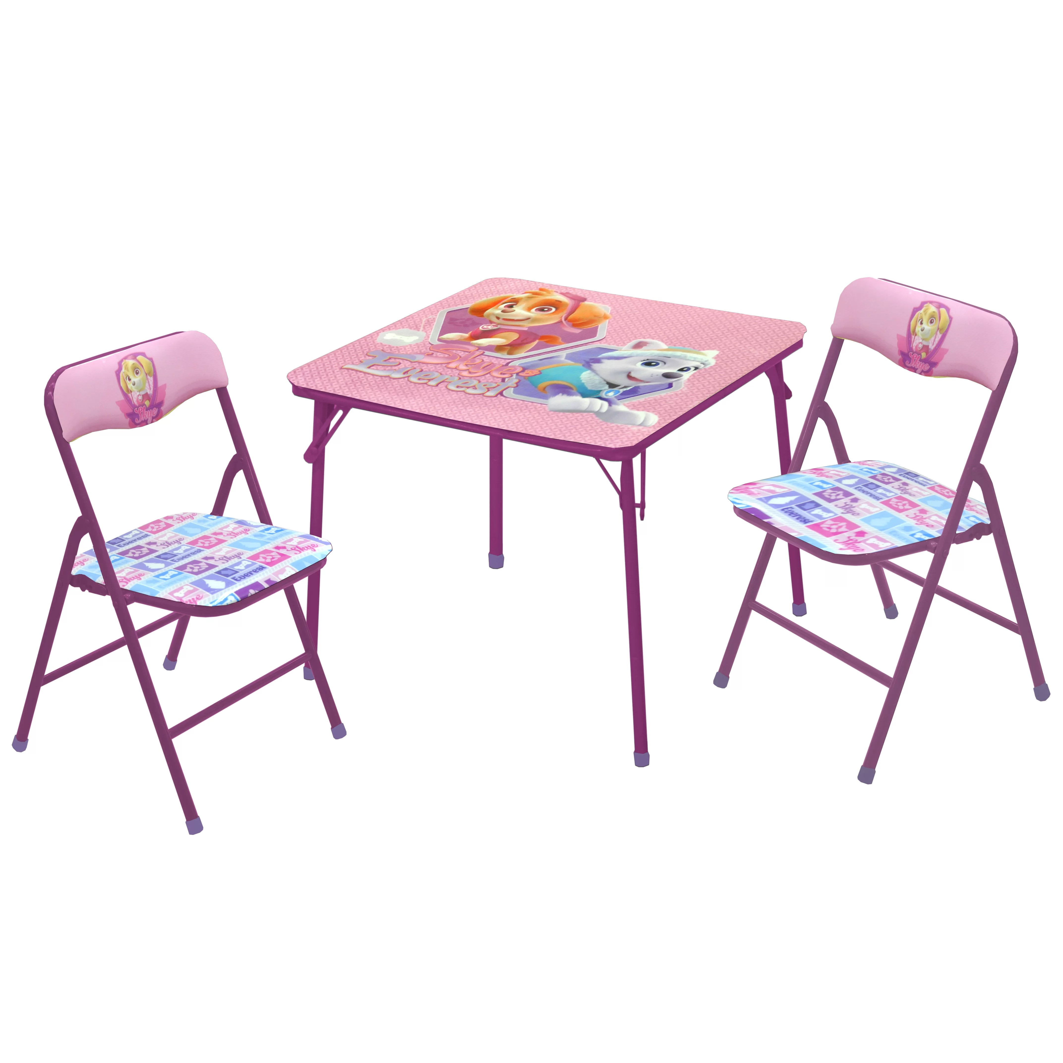 safety 1st 5 piece childrens table and chair set rubber feet caps idea nuova nickelodeon paw patrol skye everest kid 39s