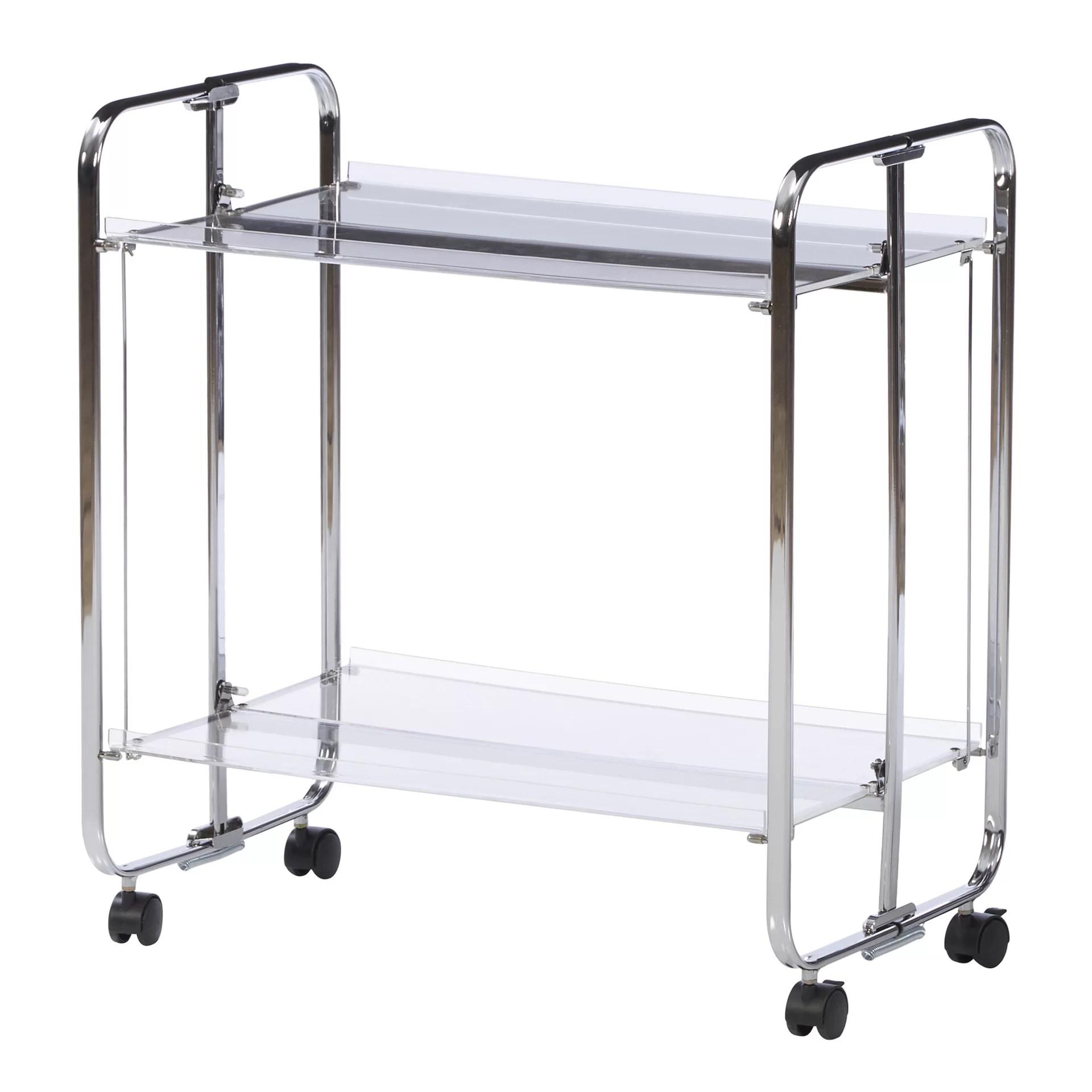 Zipcode Design Stacey Acrylic Bar Cart & Reviews