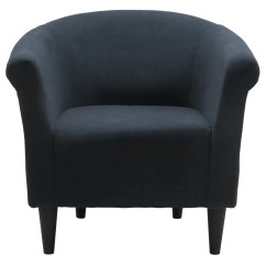Black Barrel Chair Round Kitchen Table And Chairs Zipcode Design Liam Reviews Wayfair