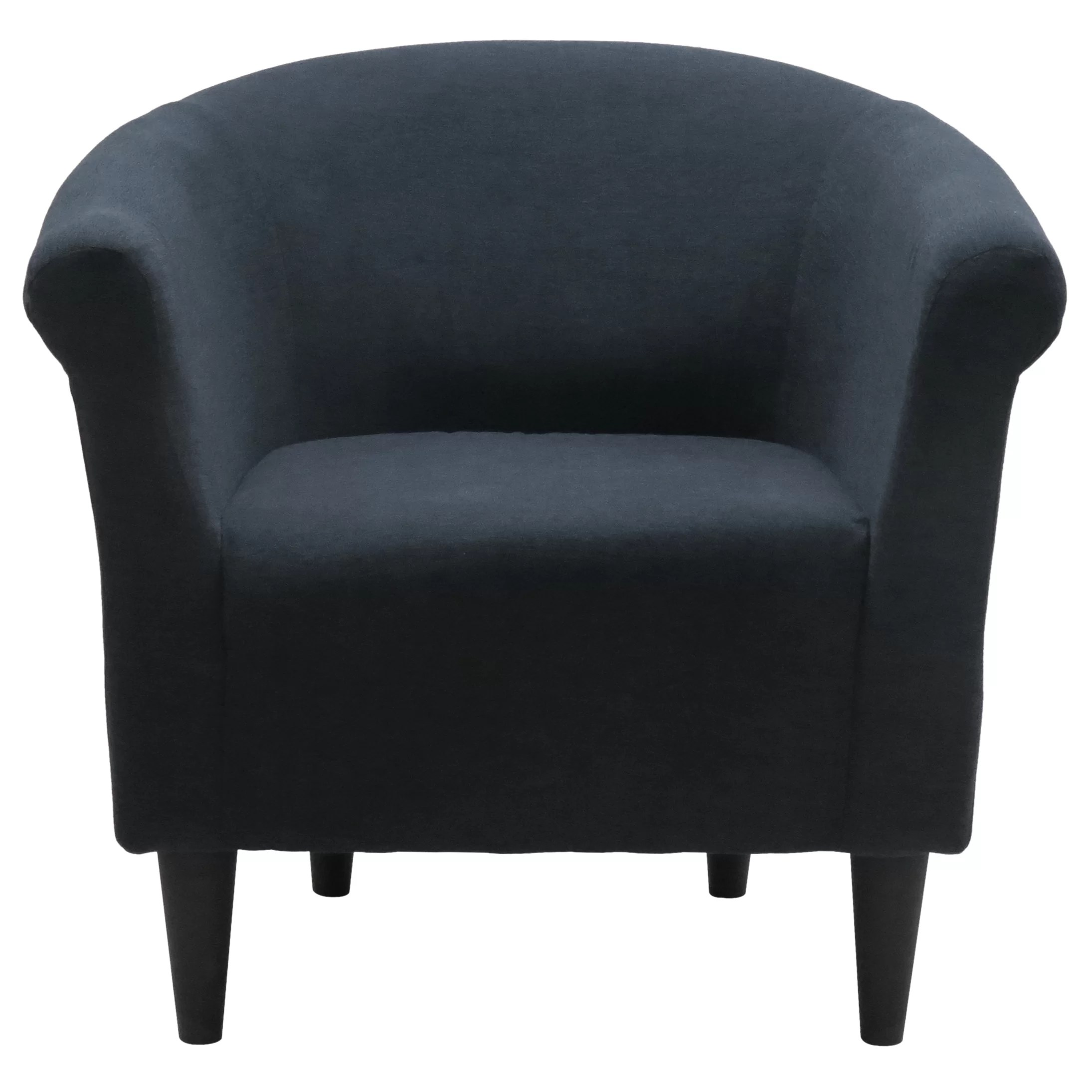 Black Barrel Chair Zipcode Design Liam Barrel Chair And Reviews Wayfair