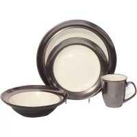 Baum Stellar 16 Piece Dinnerware Set & Reviews | Wayfair