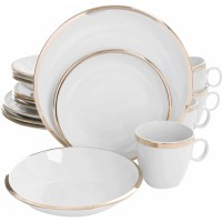 Gibson Skyline 16 Piece Dinnerware Set & Reviews