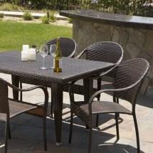 Home Loft Concepts Dimke 7pc Polyethylene Wicker Outdoor