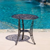 Home Loft Concepts Domingo 3 Piece Bronze Cast Aluminum
