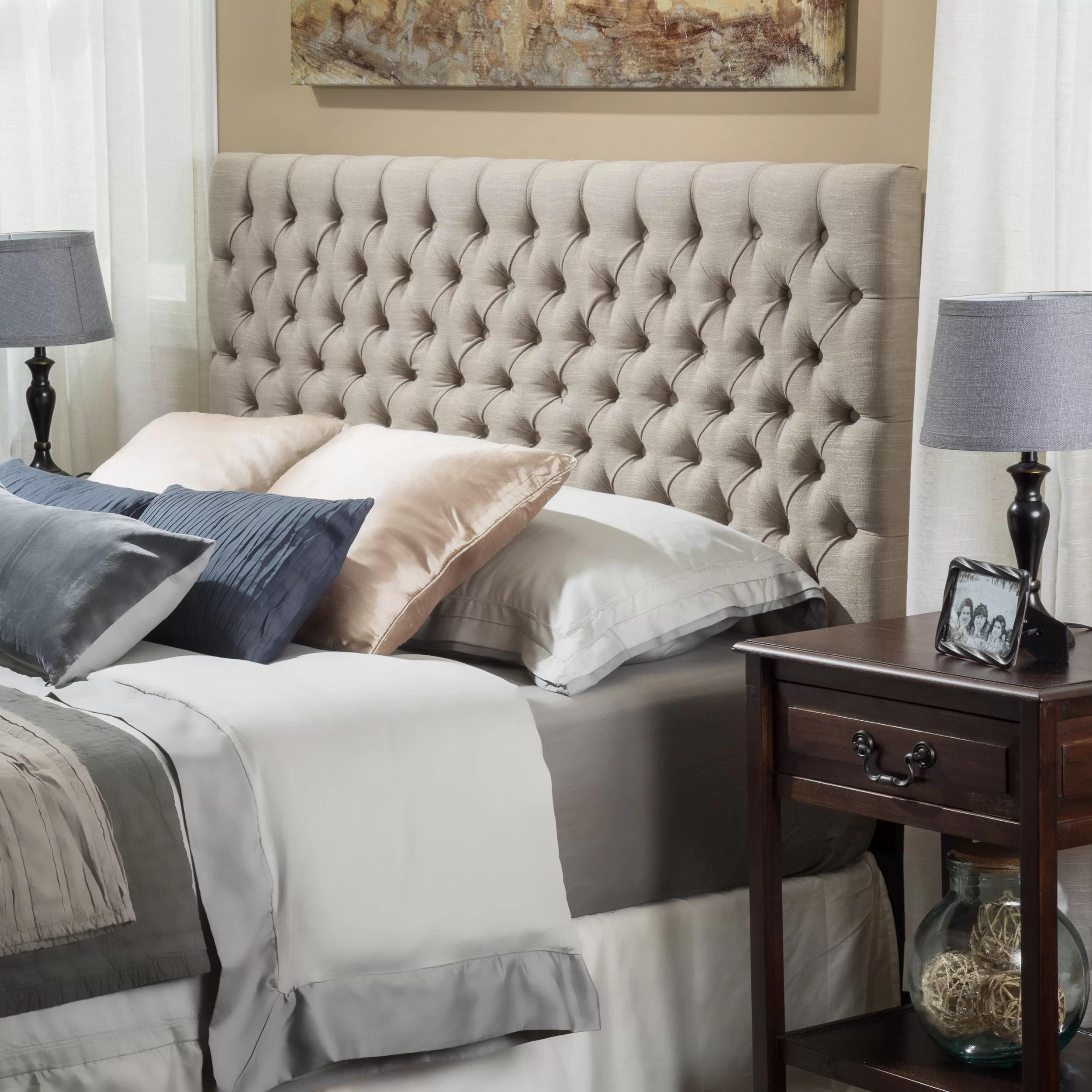 Home Loft Concepts Finnegan Upholstered Panel Headboard