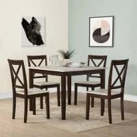 Andover Mills Tilley Rustic 5 Piece Dining Set & Reviews ...