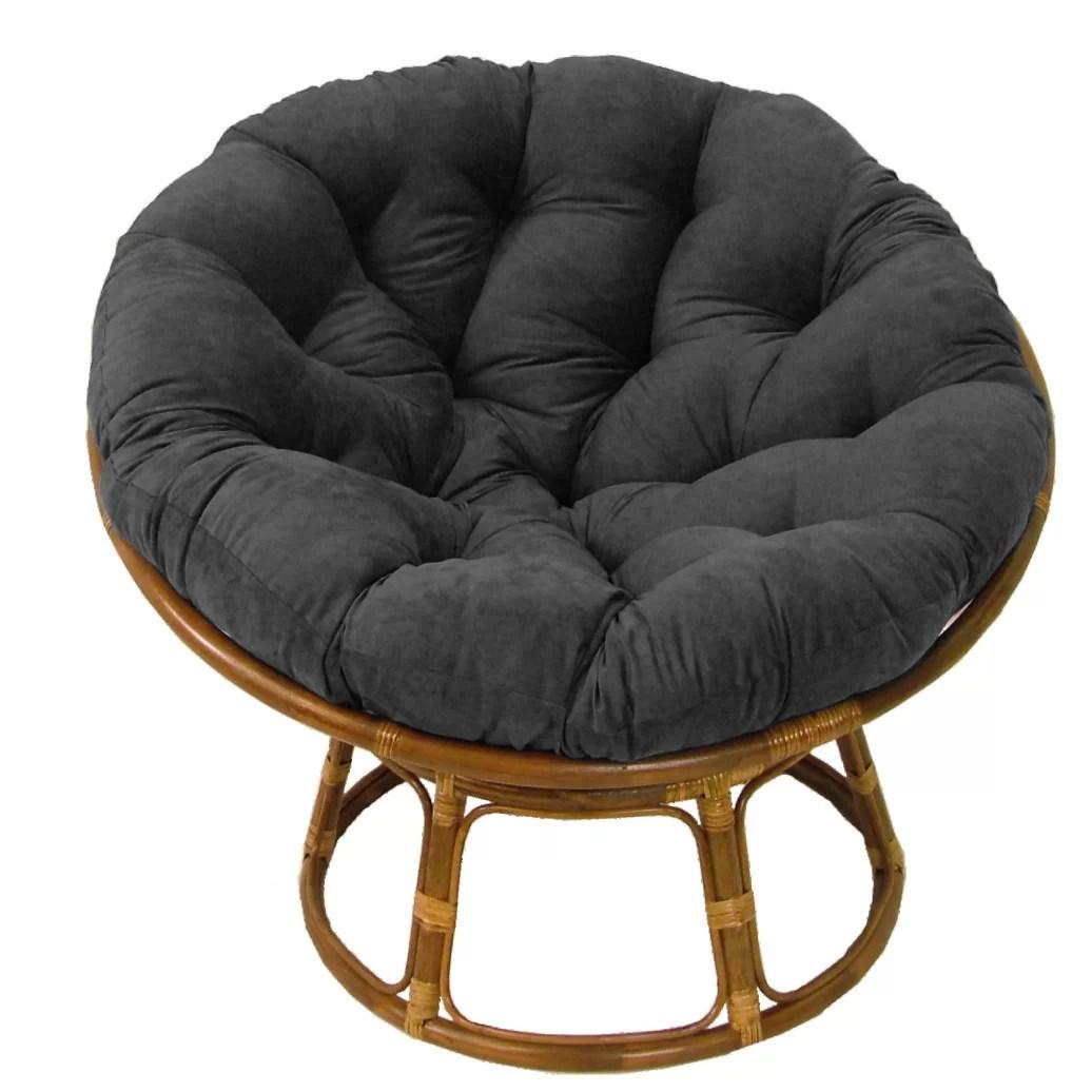 Andover Mills Deborah 42 Rattan Papasan Chair with