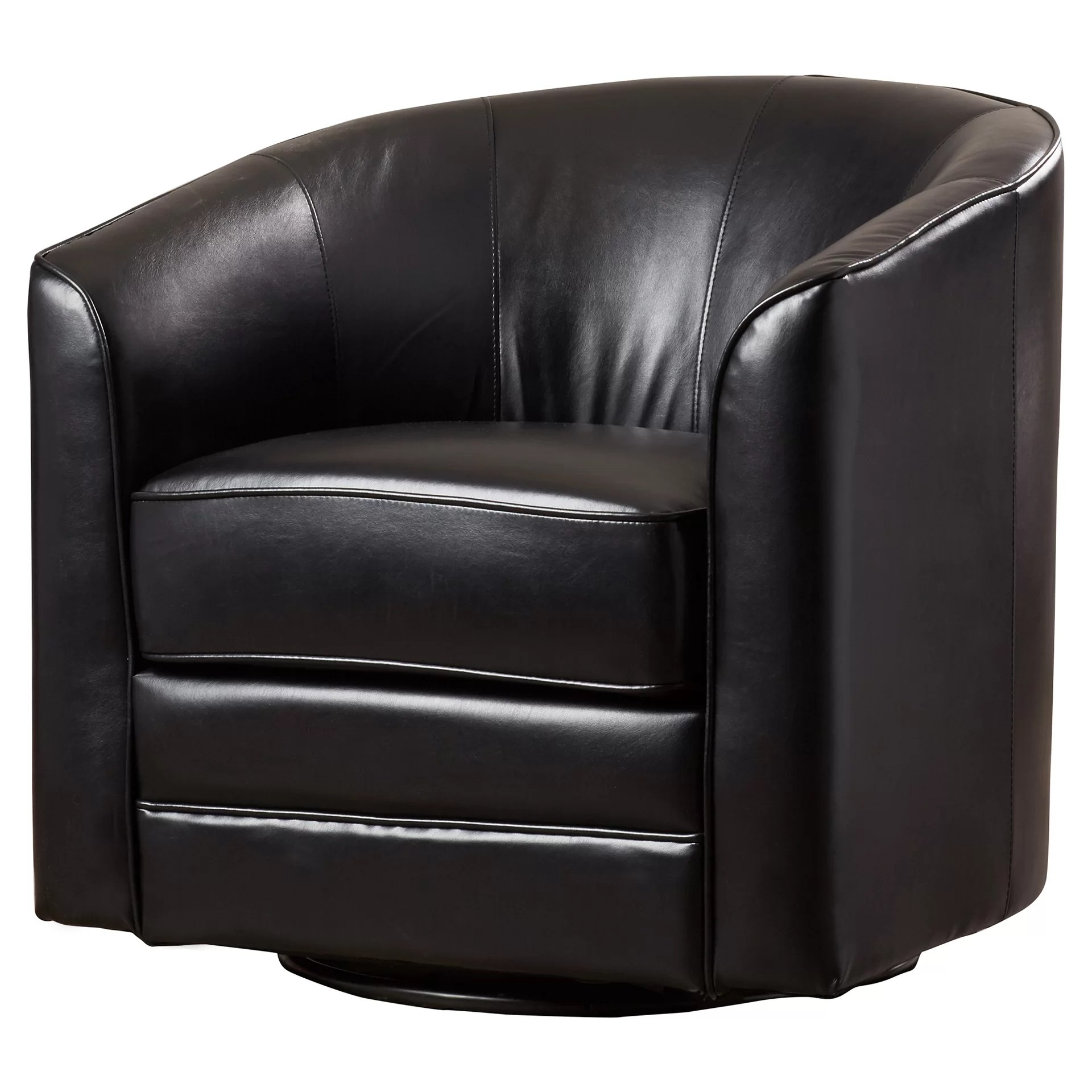 Barrel Swivel Chair Andover Mills Wells Swivel Barrel Chair And Reviews Wayfair