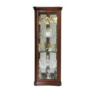 Pulaski Concave Corner Curio Cabinet & Reviews