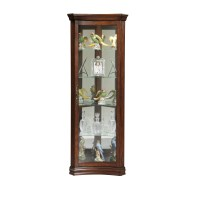 Pulaski Concave Corner Curio Cabinet & Reviews | Wayfair