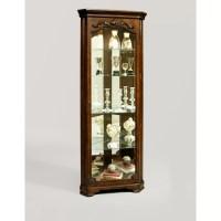 Pulaski Corner Curio Cabinet & Reviews