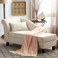 Three Posts Verona Storage Chaise Lounge & Reviews | Wayfair