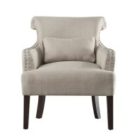 Three Posts New Britain Curved Back Arm Chair & Reviews ...