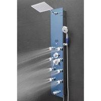 AKDY Tower Rainfall Shower Panel System & Reviews | Wayfair.ca