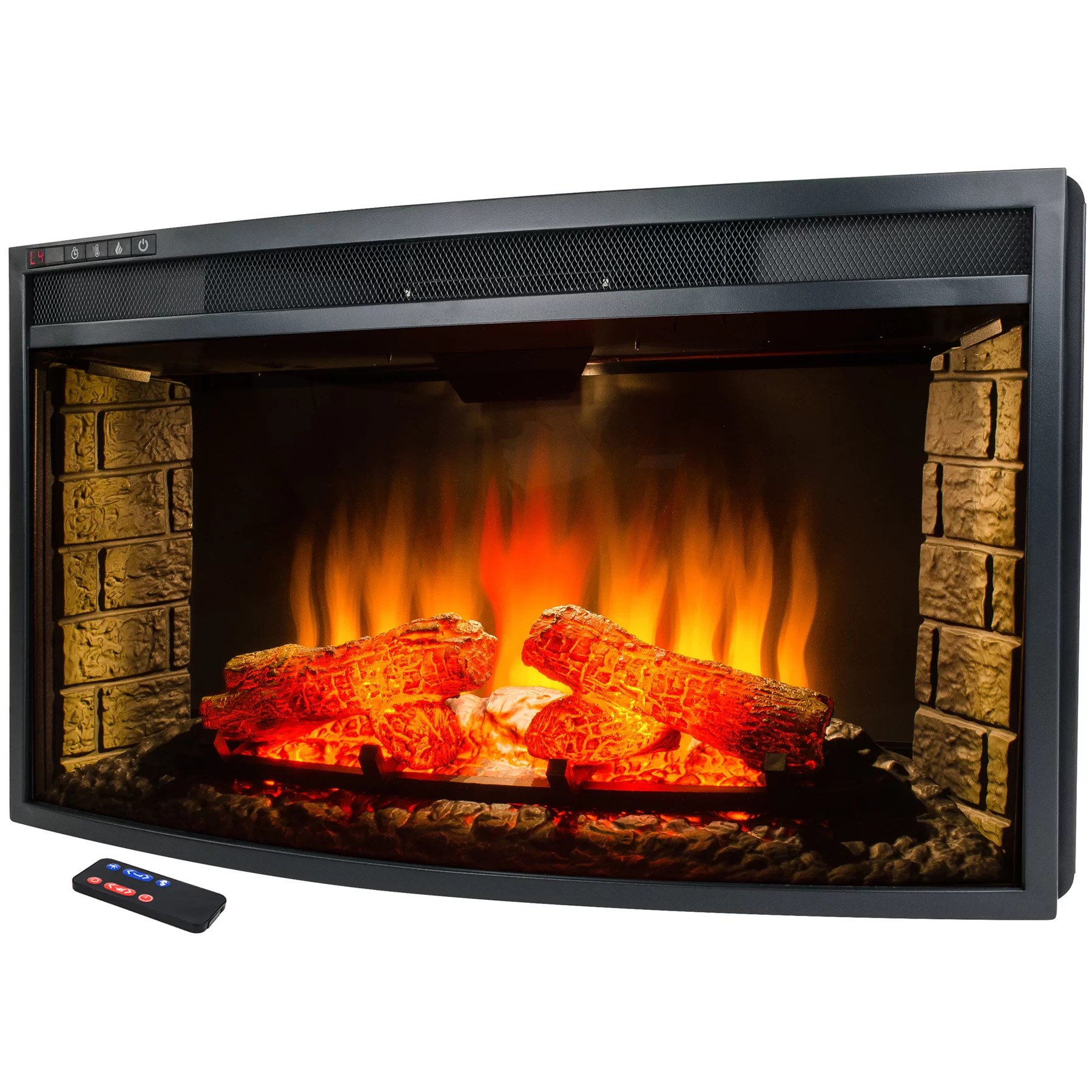 28 In Freestanding Electric Fireplace Insert Heater With For Akdy Freestanding Electric Fireplace Insert & Reviews