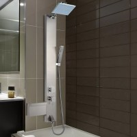 AKDY Rainfall Shower Panel Tower System & Reviews | Wayfair.ca