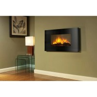 AKDY Curved Wall Mount Electric Fireplace & Reviews ...
