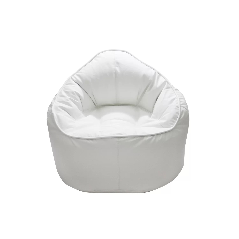 giant bean bag chair x rocker pedestal gaming ps4 xbox one modern the pod wayfair