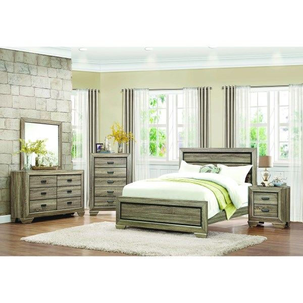 Homelegance Beechnut Panel Bed &