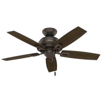 "Hunter Fan 44"" Donegan 5 Blade Ceiling Fan & Reviews"