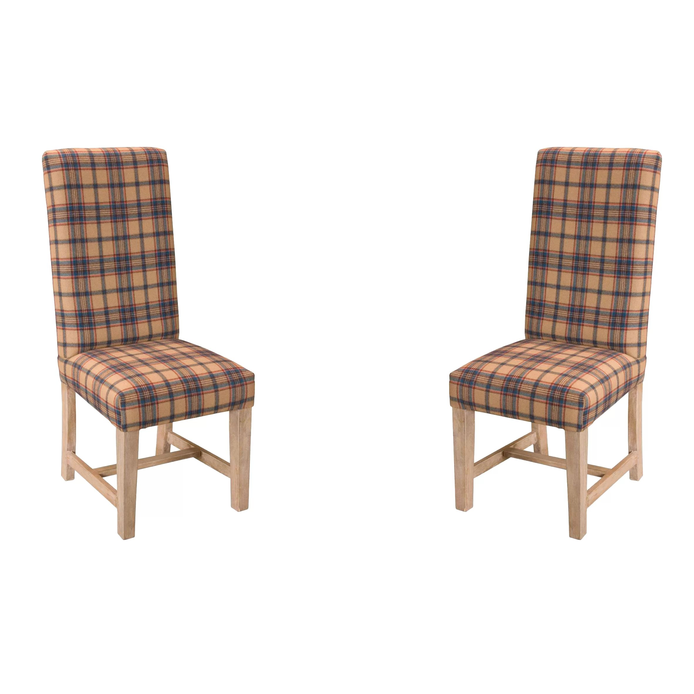 Upholstered Dining Chairs Château Chic Solid Wood Upholstered Dining Chair Wayfair Uk