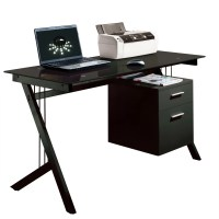 Home & Haus Sleek Computer Desk & Reviews | Wayfair UK
