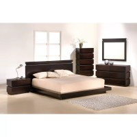 J&M Furniture Knotch Platform Customizable Bedroom Set ...